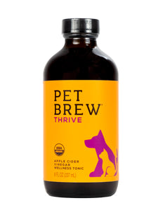 Pet Brew | Thrive - For Cats and Dogs | Apple Cider Vinegar Every Day Boost