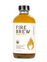 Fire Brew | Fortify - Unsweetened (Vegan)| Apple Cider Vinegar Superfood Tonic