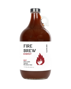 Fire Brew - Energy Beet Apple Cider Vinegar (Fire Cider) Tonic