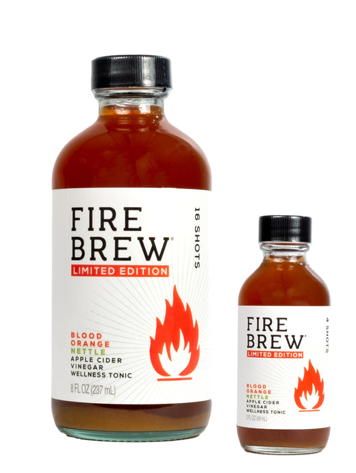 Fire Brew | Blood Orange Nettle | Apple Cider Vinegar Superfood Tonic