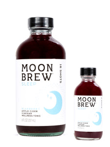 Moon Brew | Sleep - Blueberry | Apple Cider Vinegar Mood Balancing Tonic