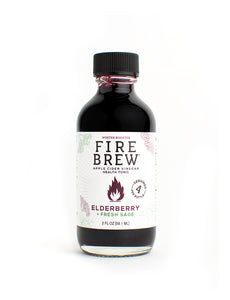 Fire Brew | Restore - Elderberry | Apple Cider Vinegar Superfood Tonic
