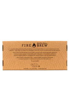 Fire Brew - Flight of Five Sampler 5 Pack Apple Cider Vinegar (Fire Cider) Tonics