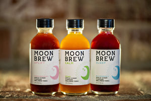 Moon Brew | Triple Crown Sampler Box | Apple Cider Vinegar Mood Balancing Tonic