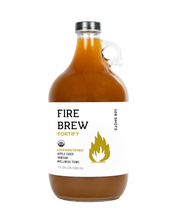 Fire Brew - Fortify Unsweetened (Vegan Friendly!) Apple Cider Vinegar (Fire Cider) Tonic