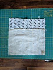 Pillow- step 4