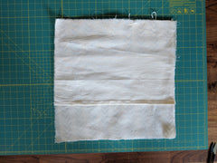 Pillow- step 4a