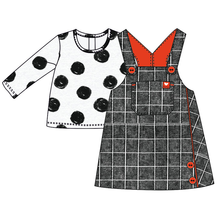 Set T- Shirt & Pinafore