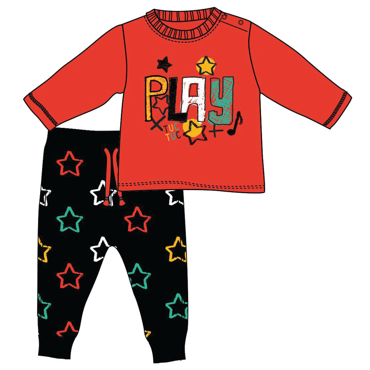 Set for Boys Jersey T- shirt + Trousers
