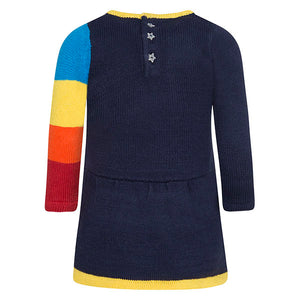 Rainbow Knitted Dress