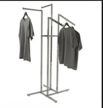 4 Way Combination Display Stand Chrome
