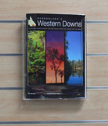 Slatwall A5 Brochure Holder