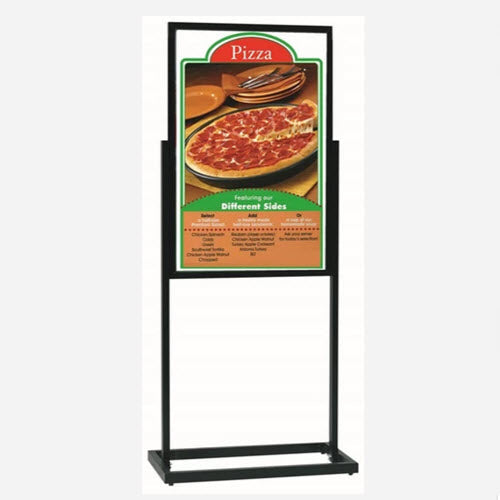 A2 Poster Stand / Retail Sign Holder AC12 Black