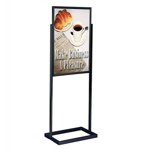 A1 Poster Stand / Retail Sign Holder AC12 Black