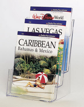 Brochure Holder A4 3Tier