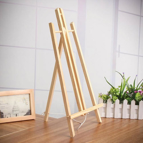 A4 Natural Wood A Frame Easel