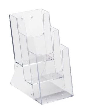 Brochure Holder DLE 3 Tier