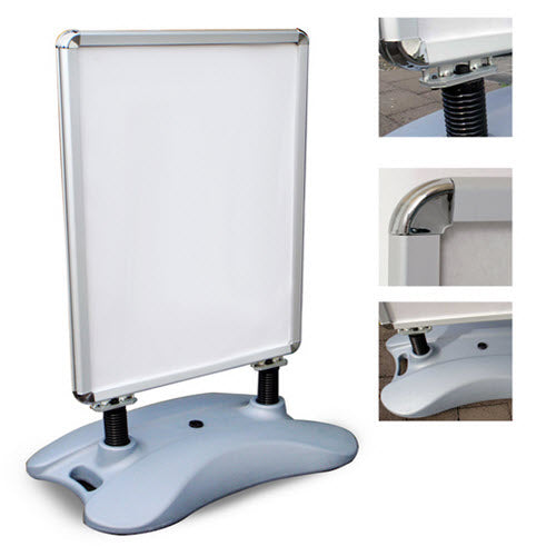 Footpath A1 Snap Frame Sign Holder