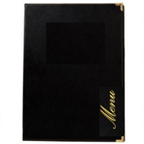 Restaurant Kingston A4 Menu Holder Black