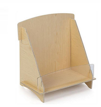 Plywood Brochure Holder A4