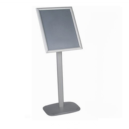 Silver A3 Snap Frame Display Stand Landscape/Portrait