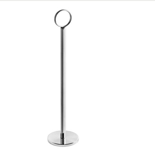 Table stainless Steel Card Holder 10""