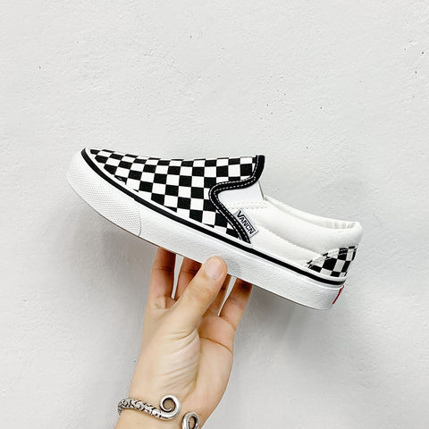 Black-and-white Couple Skateboard Men's Shoes, Sports And Leisure Footwears Men Footwear Single Fashion 2019 Freeshipping New
