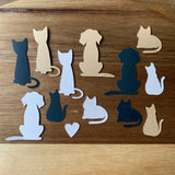 Pack of five CAT & DOG cards
