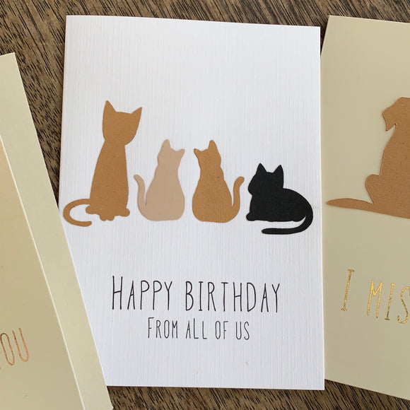 Happy Birthday Cards Five Pack