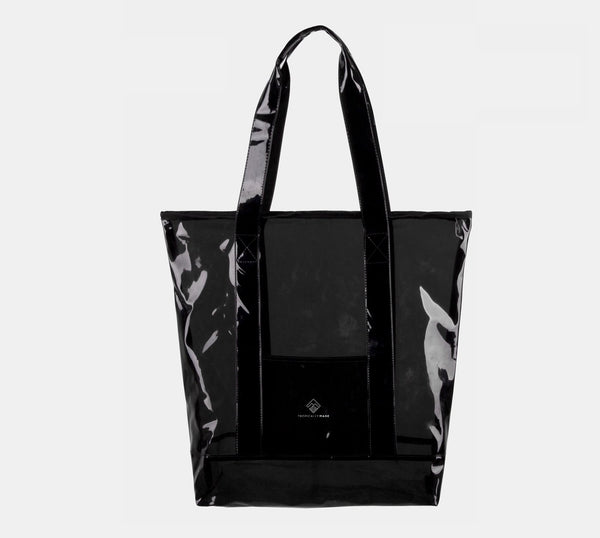 Custom PVC Tote Bag with Zipper