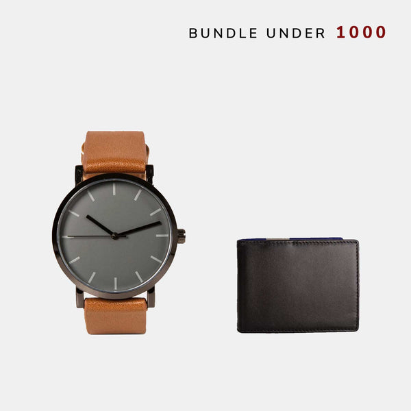 Custom Watch + Wallet