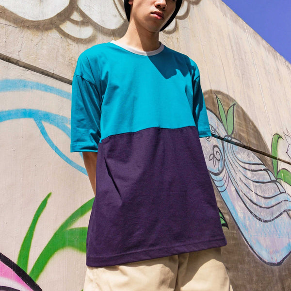 Custom Oversized Two-Tone Tee