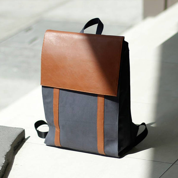 Custom Cotton Twill Backpack
