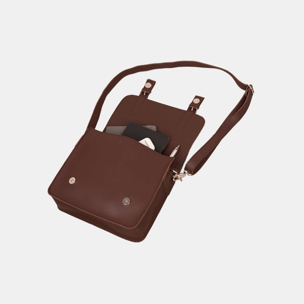 Custom Leather Mini Satchel Bag