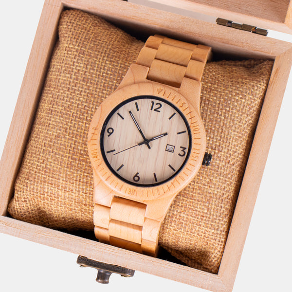 Custom Bamboo Watch 2