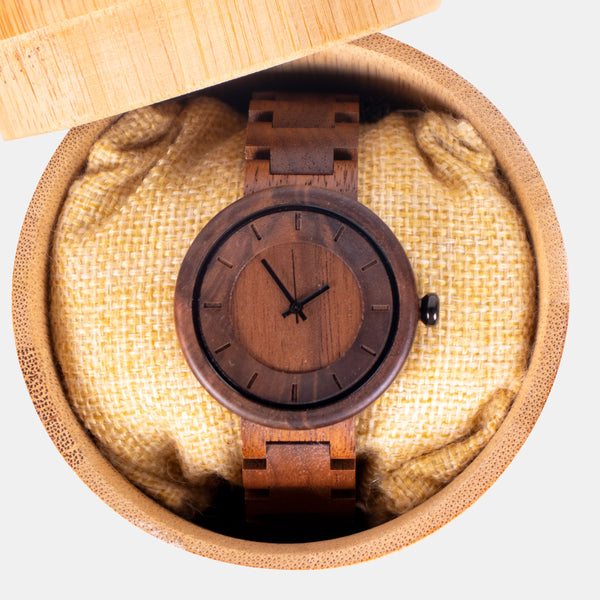 Custom Bamboo Watch 1