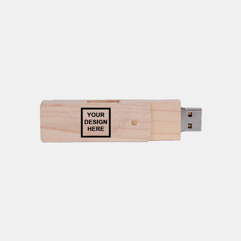 Custom Bamboo Flashdrive