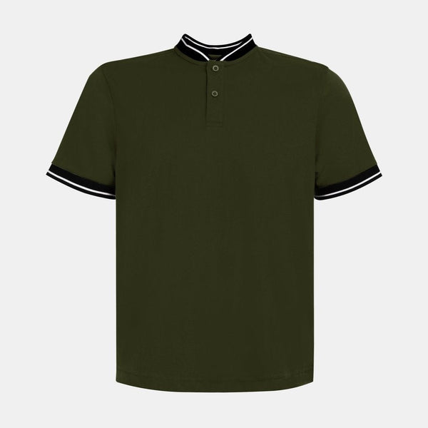 Custom Mandarin Polo Shirt