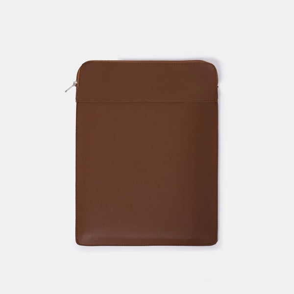 Custom Leather Laptop Case (Portrait)