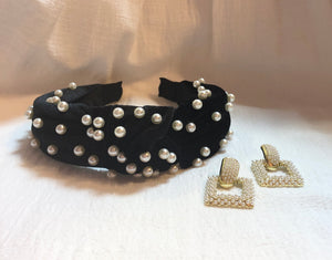 Headband in Black Pearl