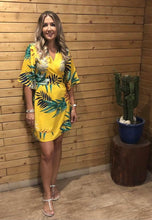 Load image into Gallery viewer, Frankie Dress in Yellow Jungle
