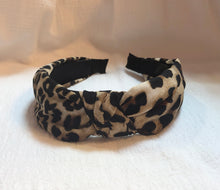 Load image into Gallery viewer, Headband in Brown Leopard