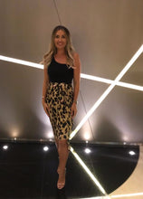 Load image into Gallery viewer, Jaspre Leopard Skirt