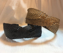 Load image into Gallery viewer, Headband in Woven Black