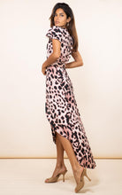 Load image into Gallery viewer, Cayenne Dress in Blush Leopard