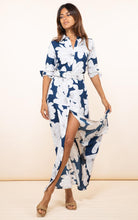 Load image into Gallery viewer, Dove Dress in Navy Bloom