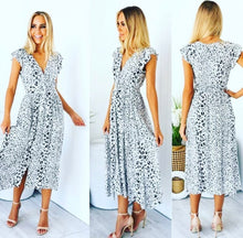 Load image into Gallery viewer, Marcella Leopard Midi Dress