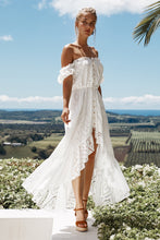 Load image into Gallery viewer, Mallorca Luxe Maxi Dress in Seashell White