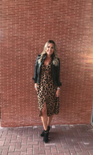 Load image into Gallery viewer, Cheryl Leopard Midi Dress