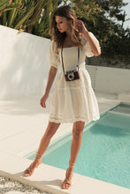 Load image into Gallery viewer, Ainsley Mini Dress in White